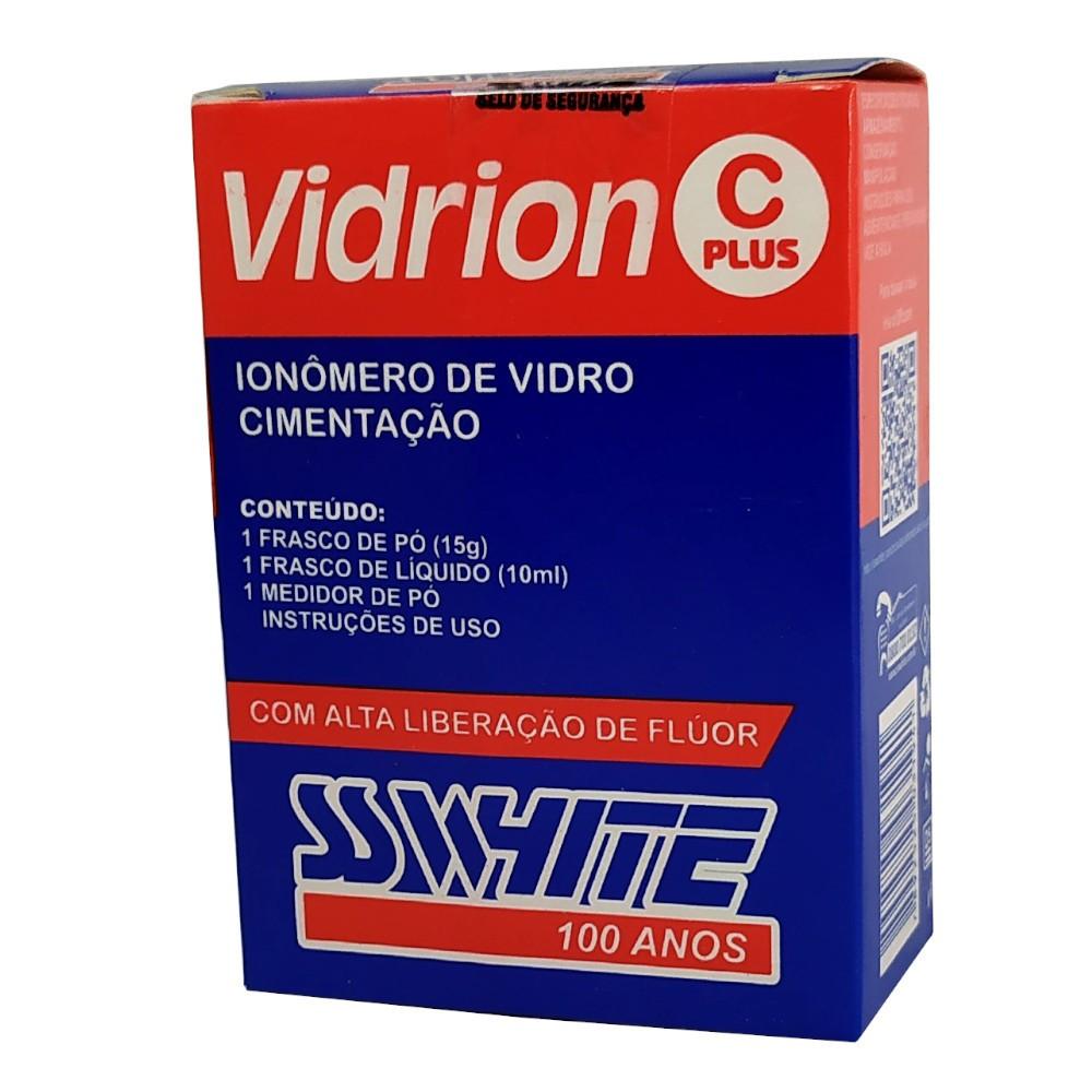 Kit Ionômero de Vidro - Auto - Vidrion C Plus - SS WHITE  - CD Dental