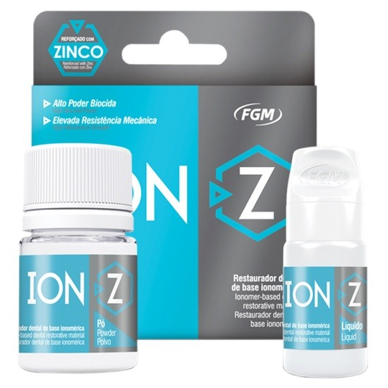 Kit Ionômero de Vidro Ion-Z A3 - FGM  - CD Dental