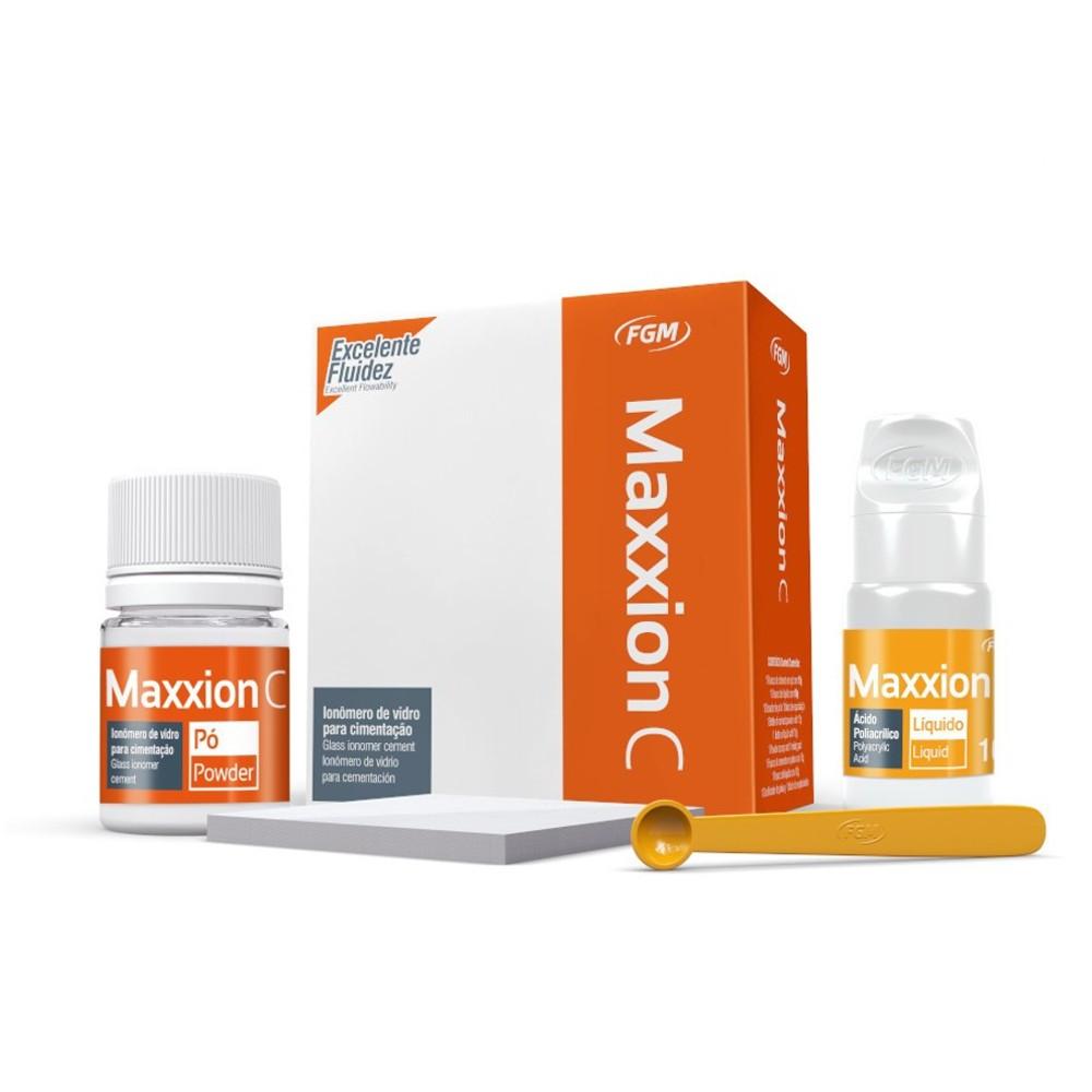 Kit Ionômero de Vidro Para Cimentação Maxxion C - FGM  - CD Dental