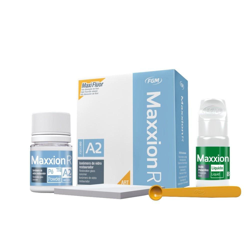 Kit Ionômero de Vidro - Restaurador - Maxxion R - FGM  - CD Dental
