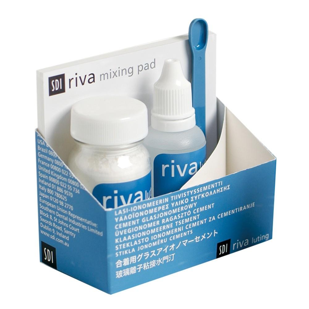 Kit Ionômero de Vidro Riva Luting Plus Pó+Líquido - SDI  - CD Dental