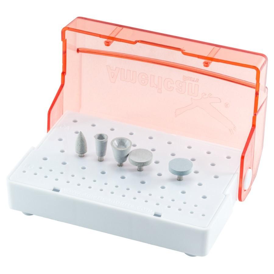 Kit para Polimento em Ortodontia - Remoção de Resina Residual - AMERICAN BURRS  - CD Dental