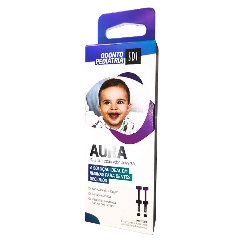 Kit Resina Aura para Odontopediatria - DB e DC1 - SDI  - CD Dental