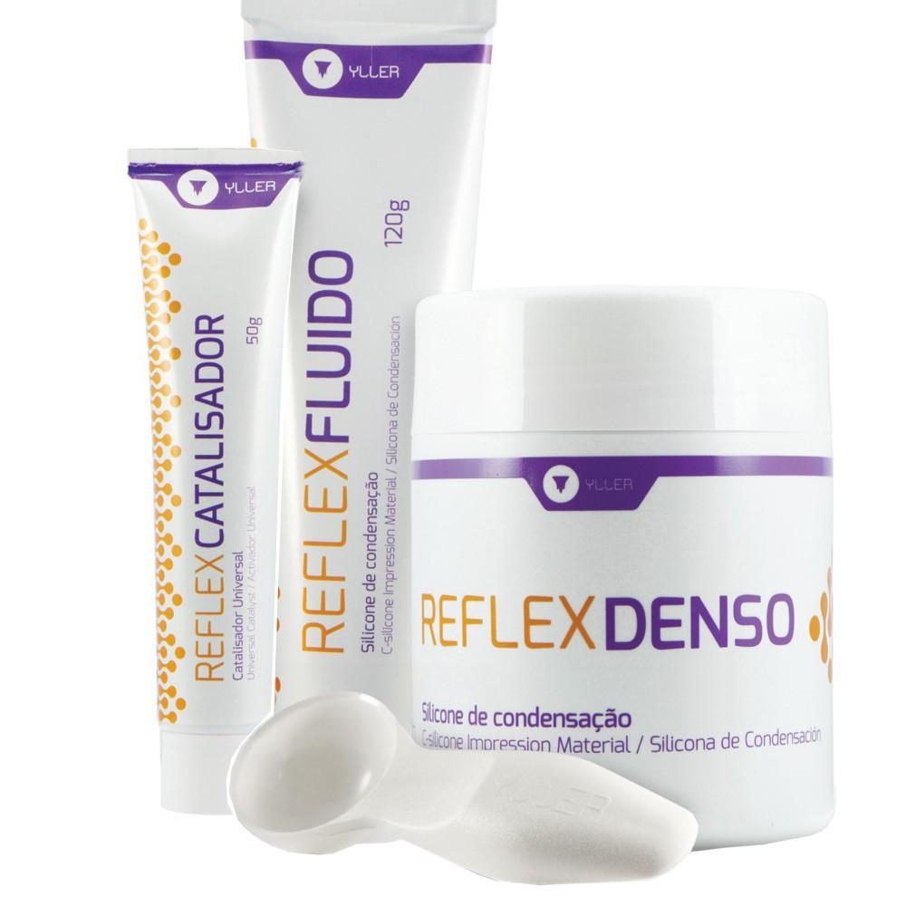 Silicone Condensação Kit Reflex - YLLER  - CD Dental