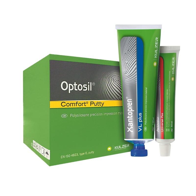 Kit Silicone de Condensação Optosil/Xantopren - KULZER  - CD Dental