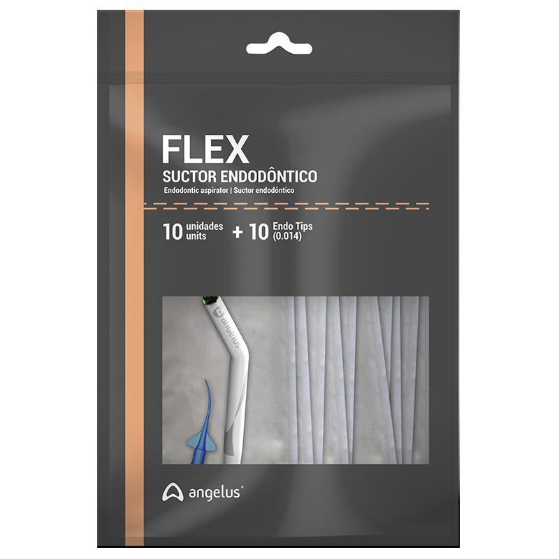 Kit Sugador Flex Suctor Endodôntico - ANGELUS  - CD Dental
