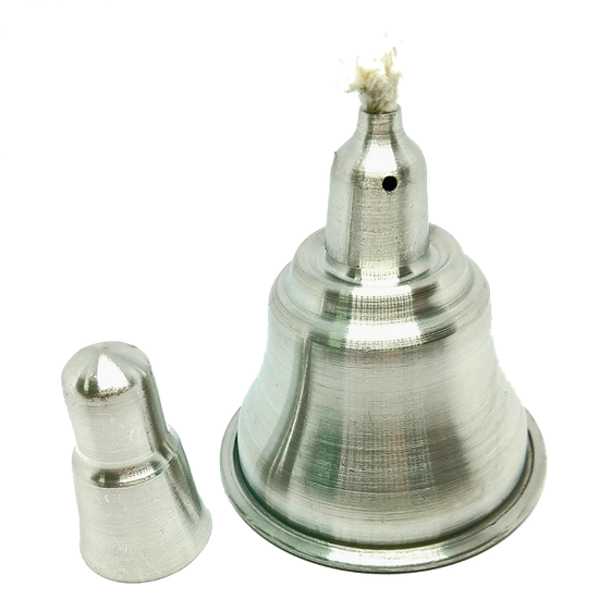 Lamparina Alumínio - 100ml - JON  - CD Dental