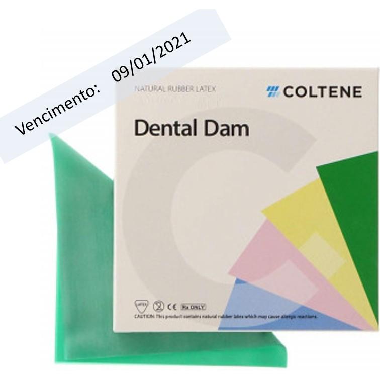 Lençol de Borracha Médio Dark Hygenic Dental Dam - COLTENE  - CD Dental