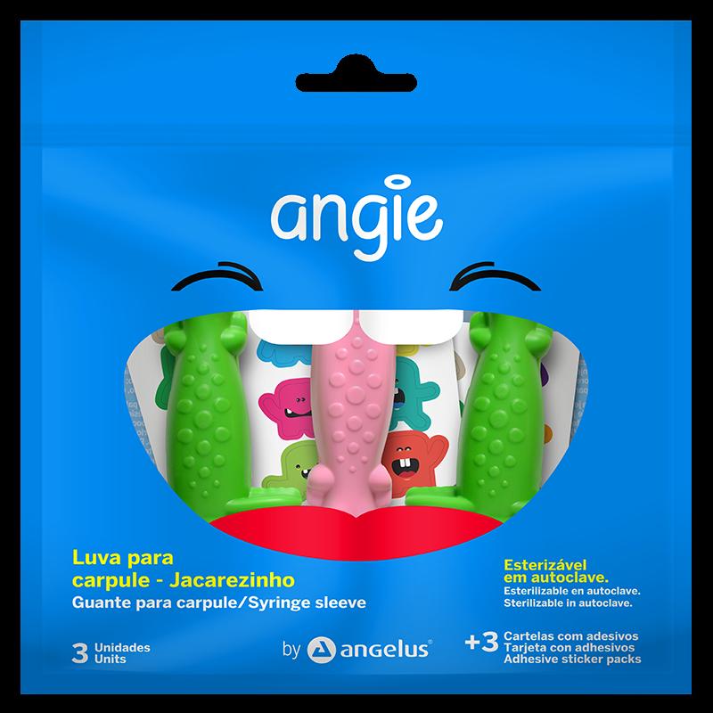 Luva para Carpule - Jacarezinho - ANGIE BY ANGELUS  - CD Dental