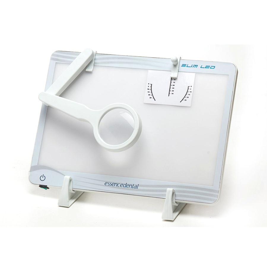 Negatoscópio Slim Led Branco - ESSENCE DENTAL VH  - CD Dental