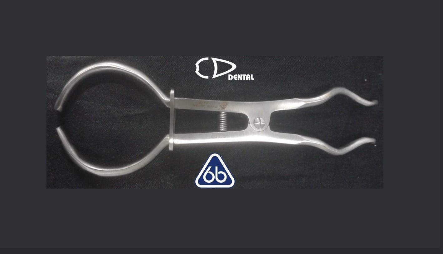 Pinça Porta Grampo Brewer 17,5cm - 6B  - CD Dental