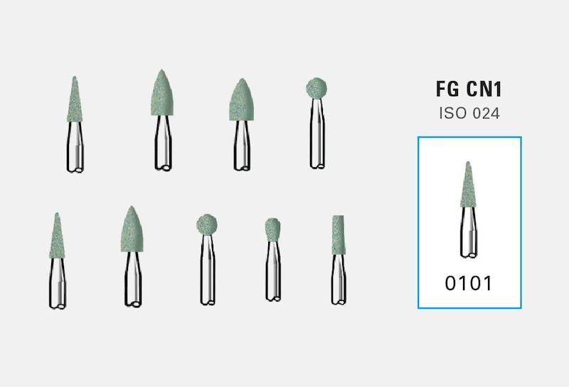 Polidor Dura Green Stone FG - SHOFU  - CD Dental