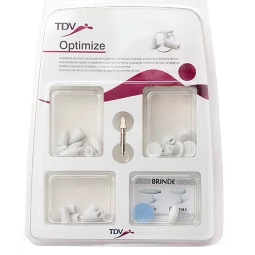 Ponta para Acabamento Optimize c/24 - TDV  - CD Dental