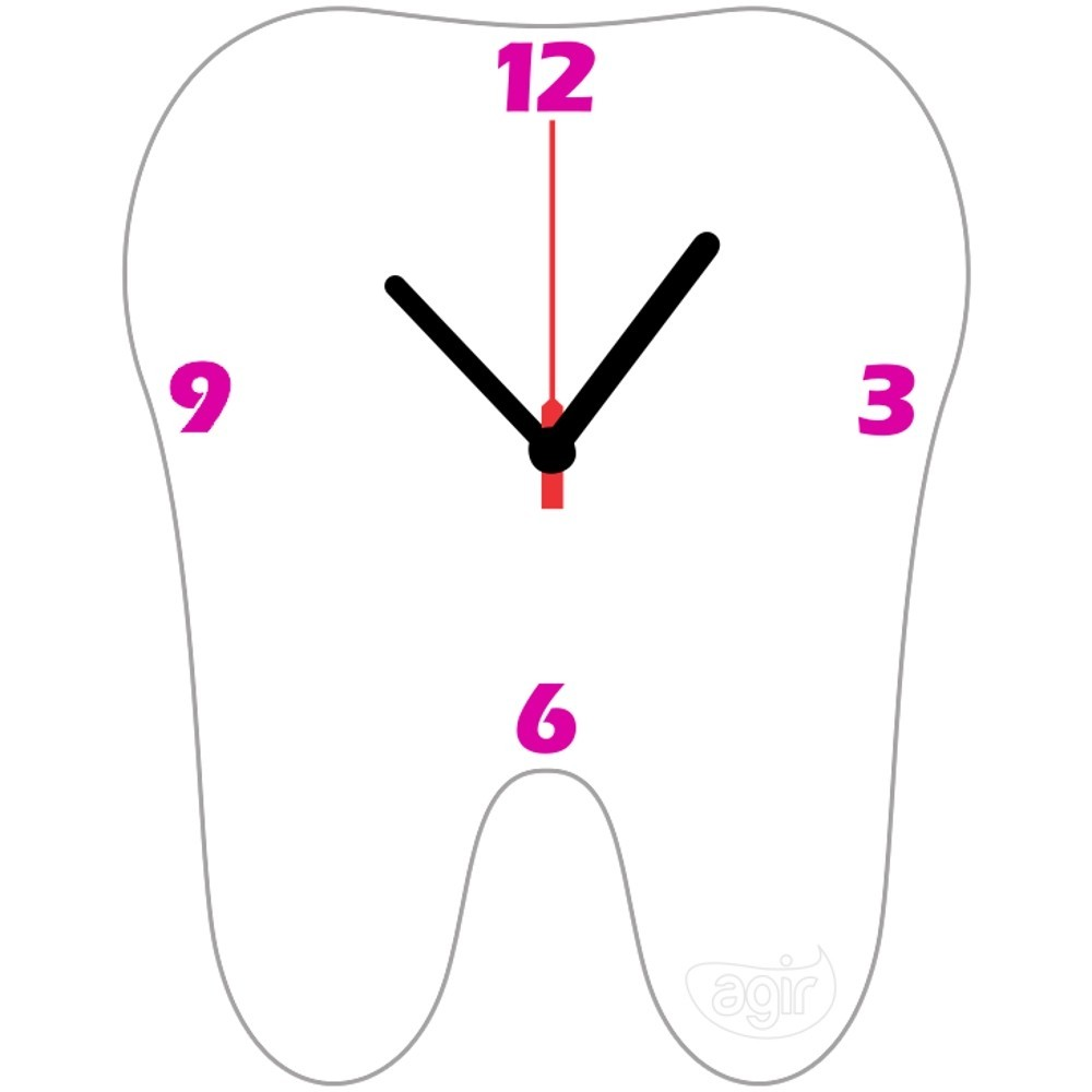 Relógio de Parede Kids - AGIR  - CD Dental