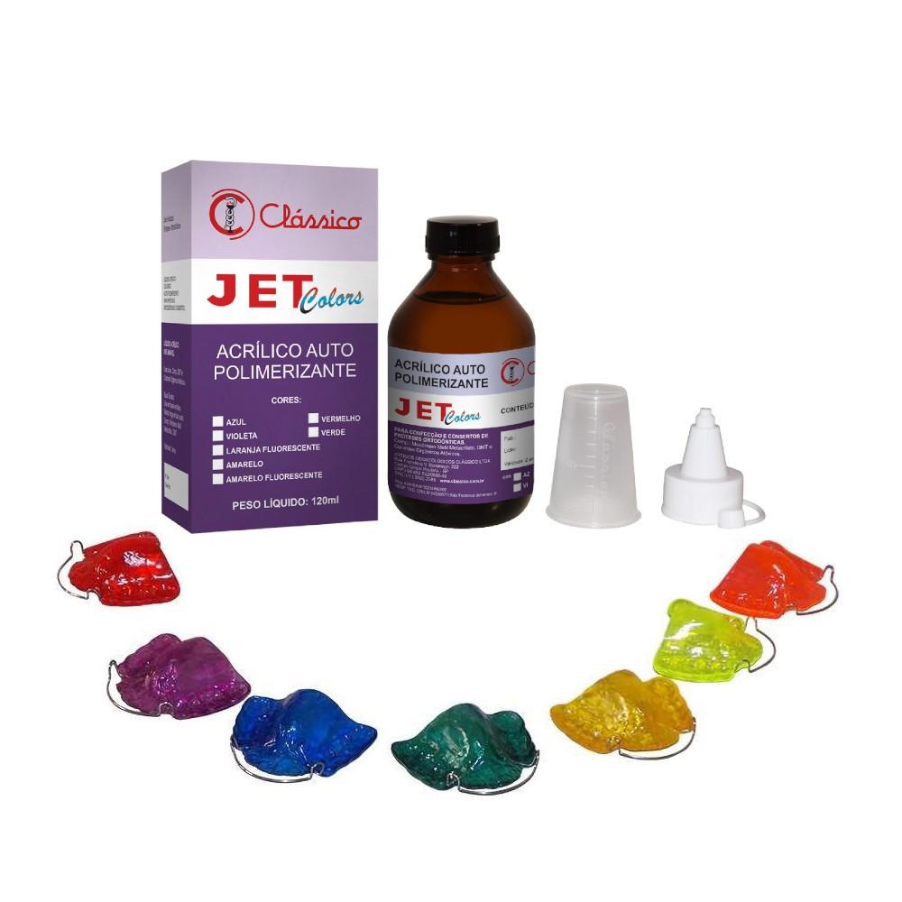 Resina Acrílica Autopolimerizante Jet Colors - CLÁSSICO  - CD Dental