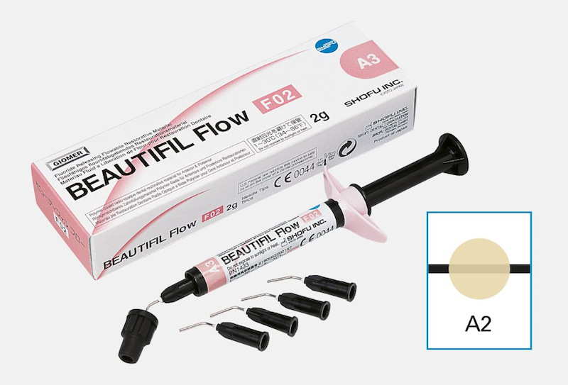 Resina Beautifil Flow F02 - SHOFU  - CD Dental