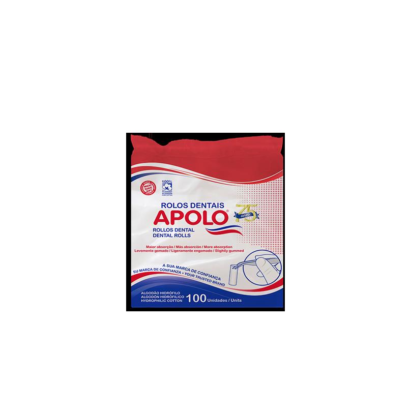 Rolo Dental 100 Unidades - APOLO  - CD Dental