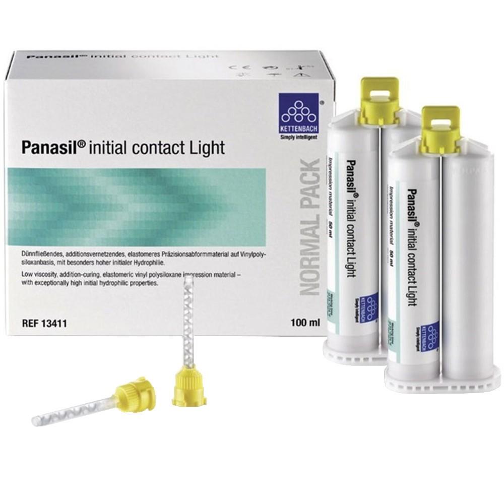 Silicone de Adição Panasil Initial Contact Light Normal Pack - ULTRADENT  - CD Dental