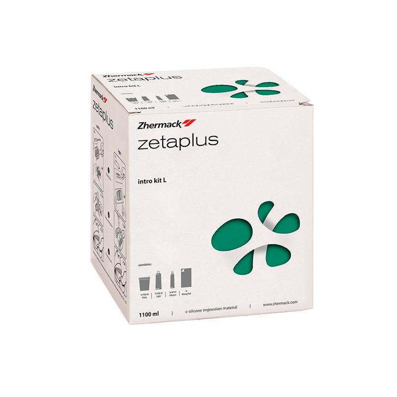 Silicone de Condensação Zetaplus Intro Kit - ZHERMACK  - CD Dental