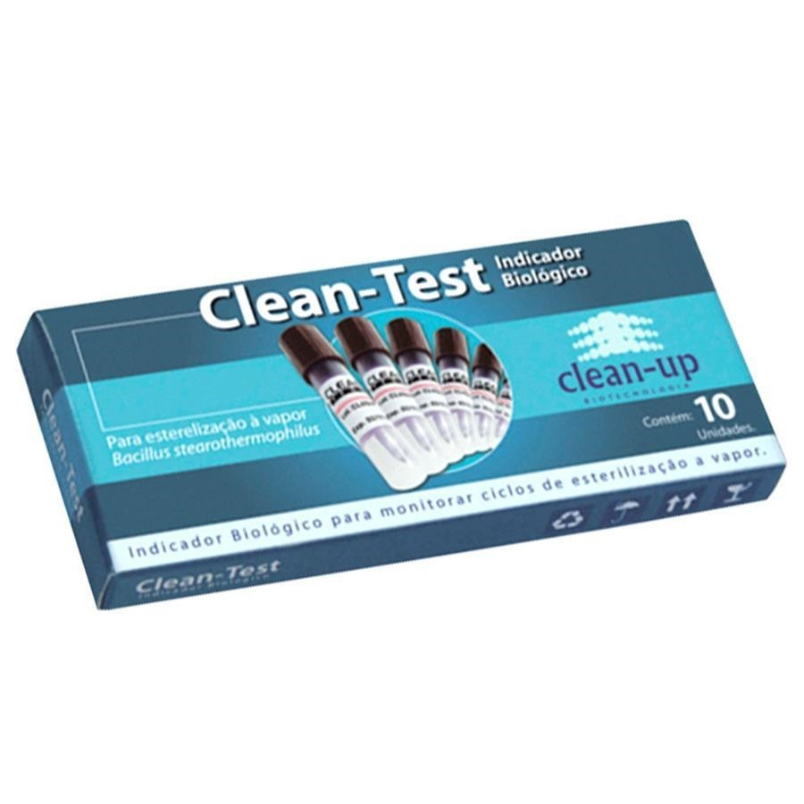 Teste Indicador Biológico Clean-Test - CLEAN UP  - CD Dental