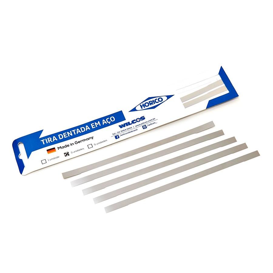 Tira de Lixa de Aço - HORICO - WILCOS  - CD Dental