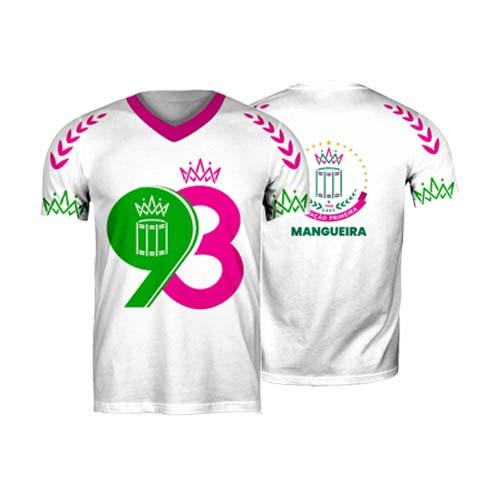 CAMISA 93 ANOS MANGUEIRA - BRANCA