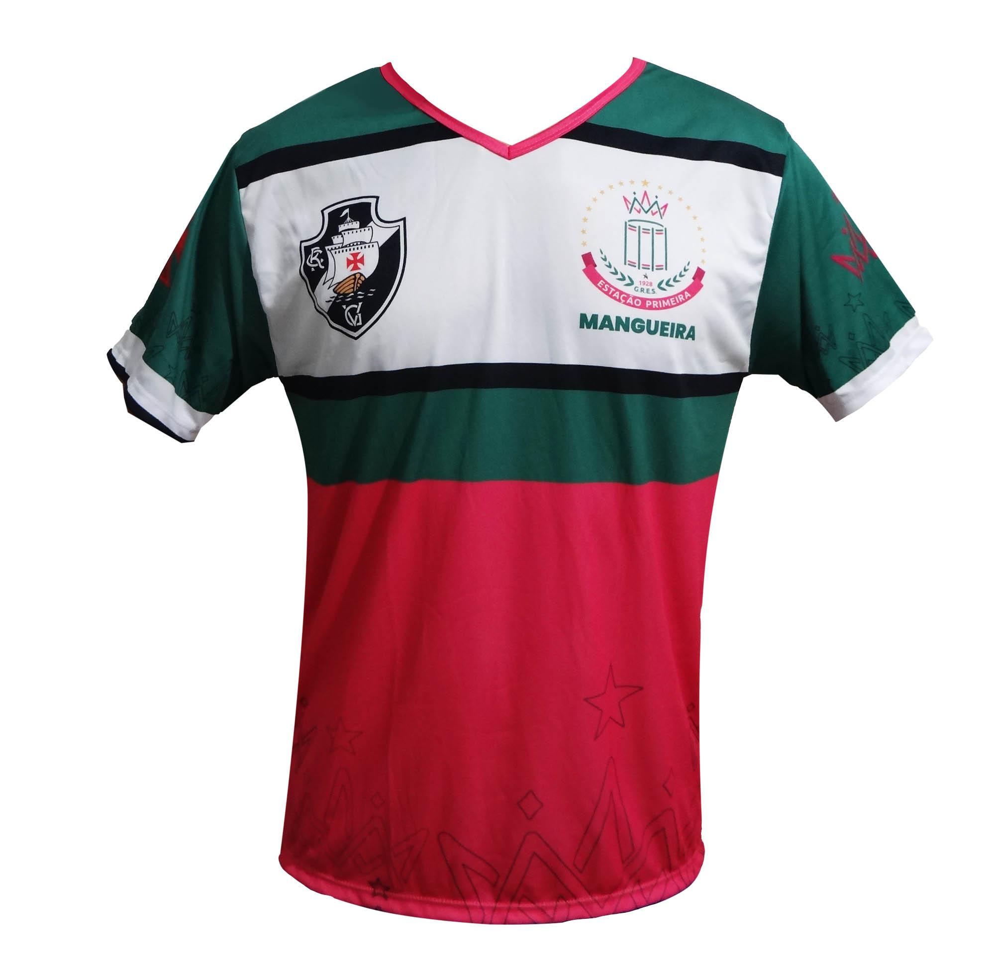 Camisa Dois Amores Vasco
