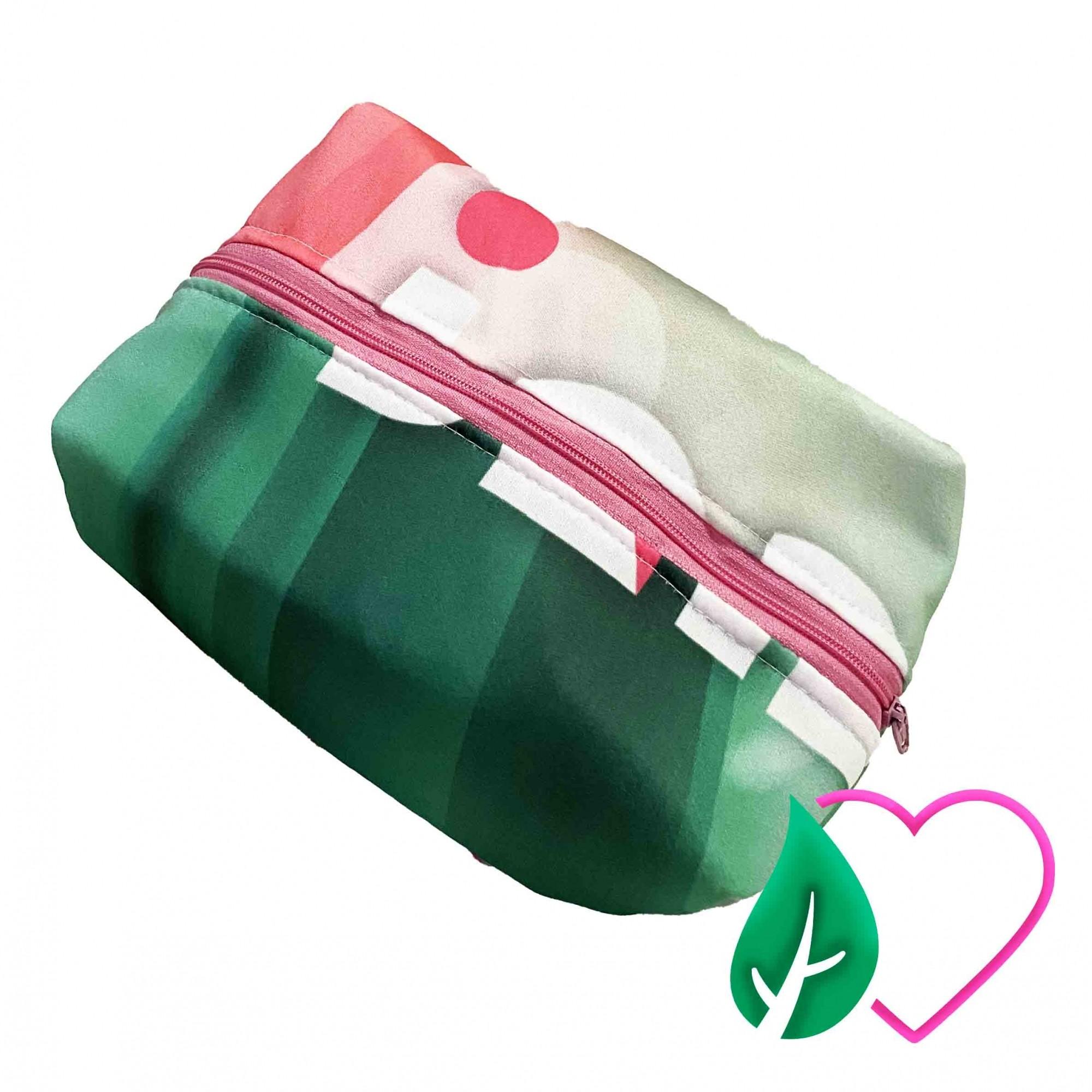 Necessarie Verde e Rosa