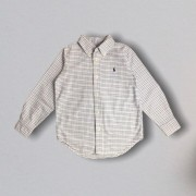 Camisa Xadrez Ralph Lauren 5 Anos