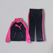 Conjunto Preto e Pink Puma