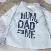 Jaqueta Mum + Dad H&M