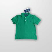 Polo Verde Ralph Lauren 2 Anos - Nova