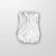 Romper Polo Branco Ralph Lauren
