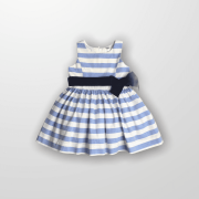 Vestido Azul Listras Oshkosh