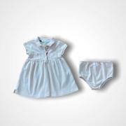 Vestido piquet Burberry 3 meses
