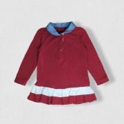 Vestido Polo Vermelho Tommy Hilfiger