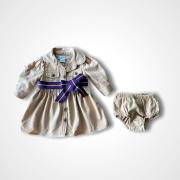 Vestido Ralph Lauren 3 meses