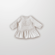 Vestido Rosa Logo Gap 3 Meses