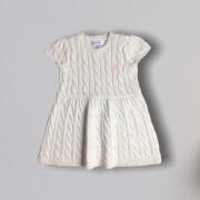 Vestido Tricot Off White Ralph Lauren