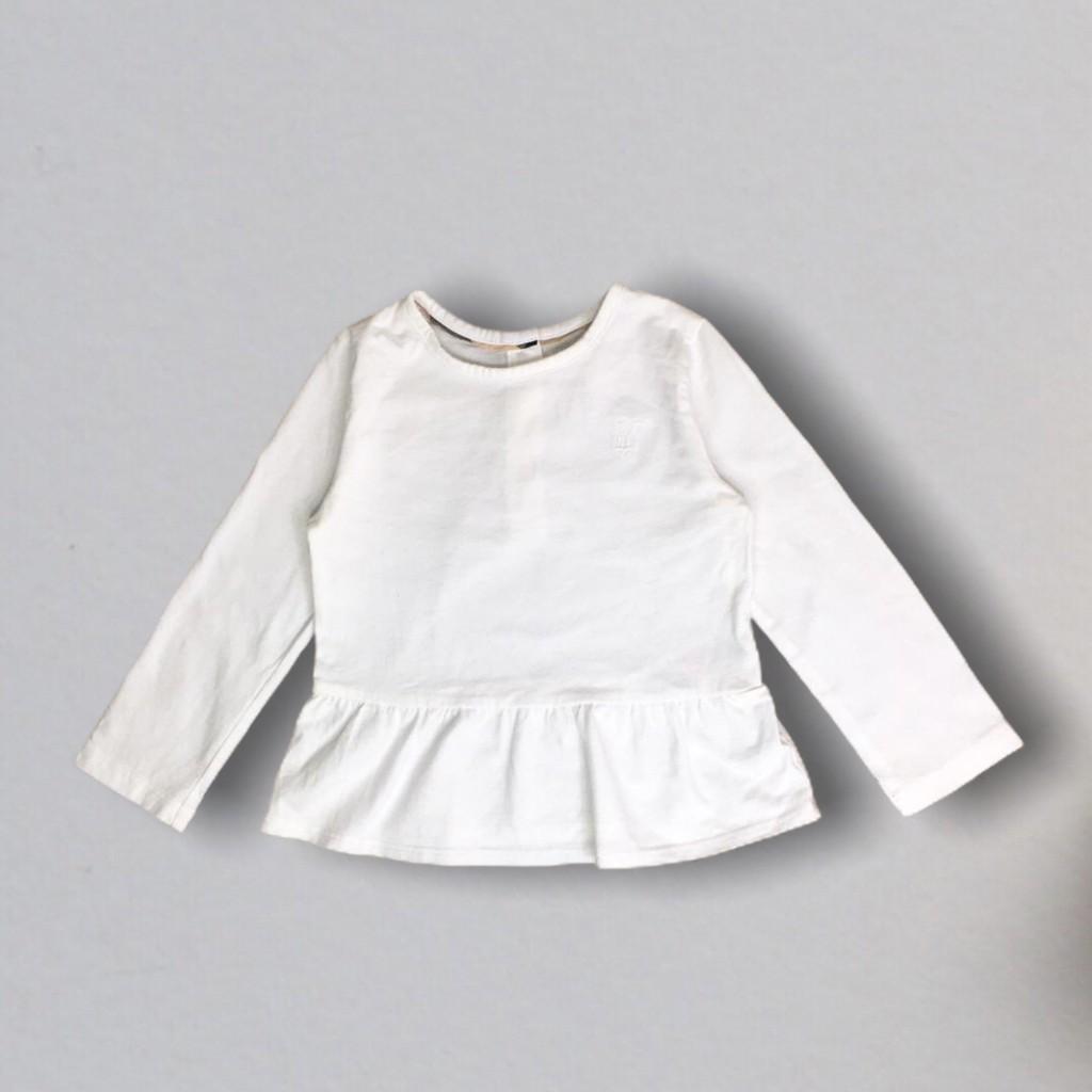 Blusinha Branca Burberry
