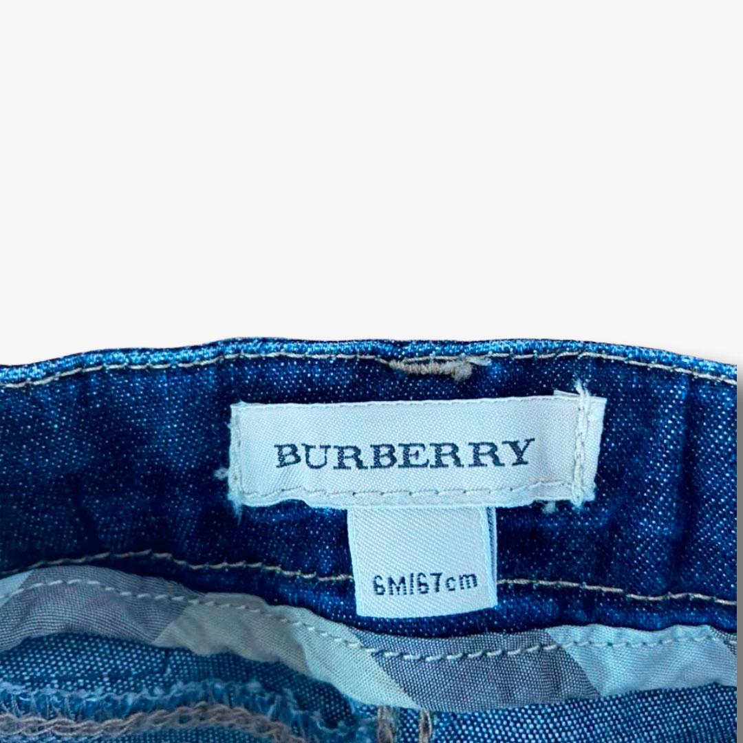 Calça Burberry 6 meses