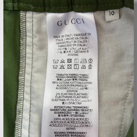 Calça Gucci - 10 Anos