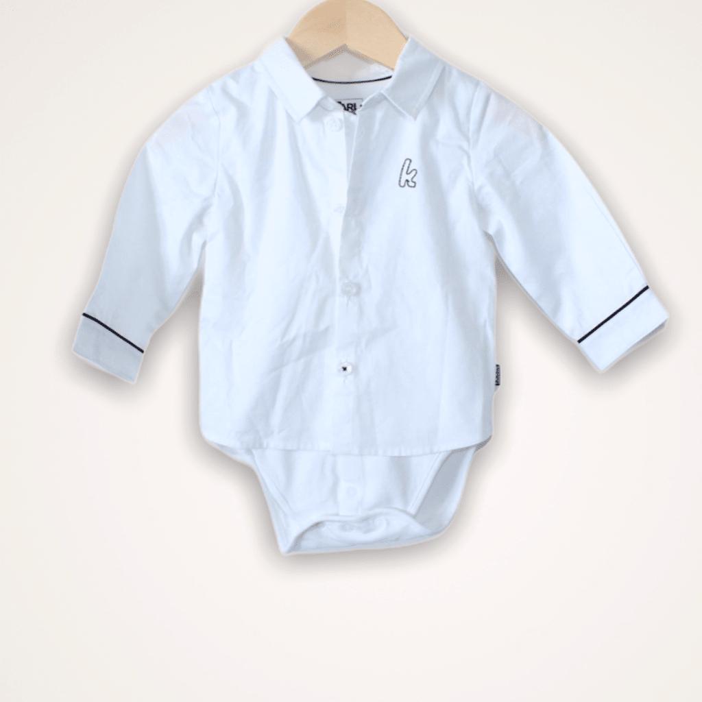 Camisa Branca Body Karl Langerfeld