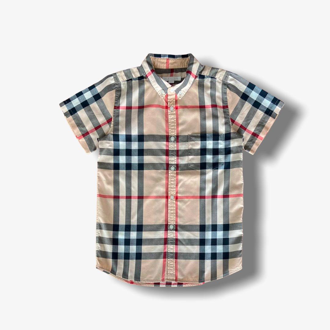 Camisa Burberry 10 anos