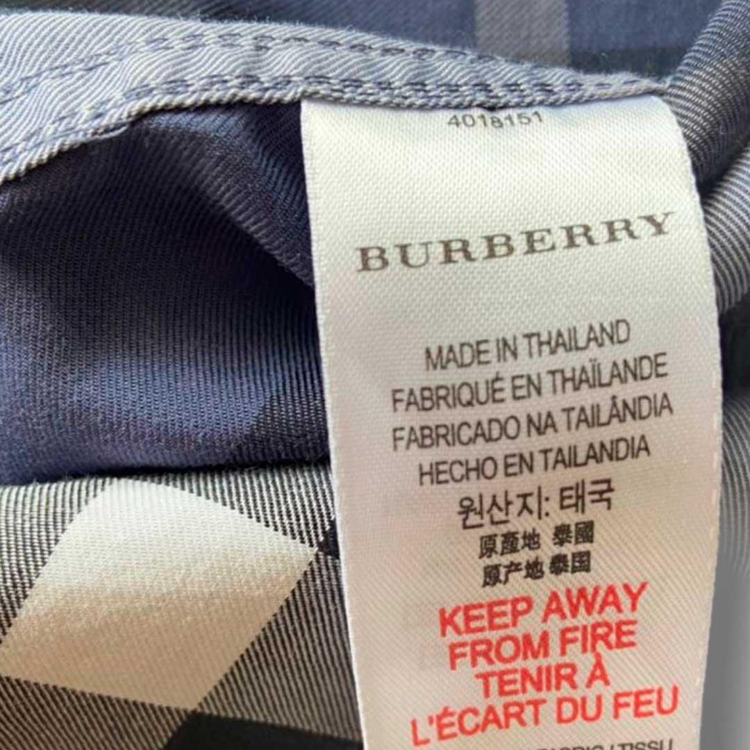 Camisa Burberry 6 anos