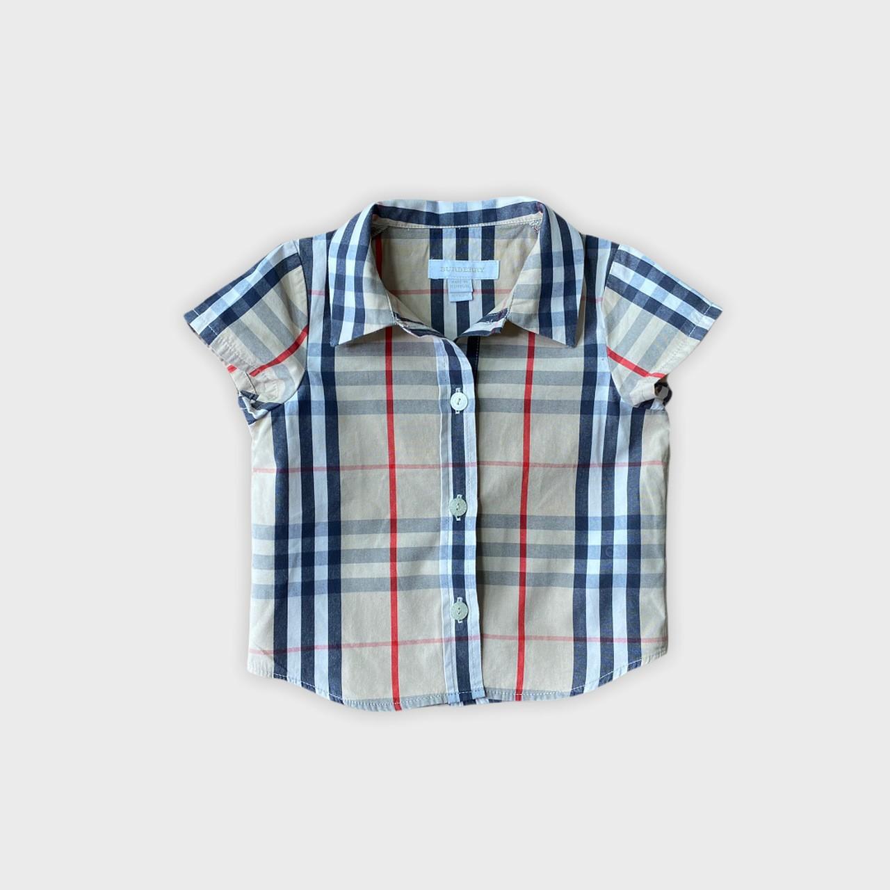 Camisa Burberry 6 meses