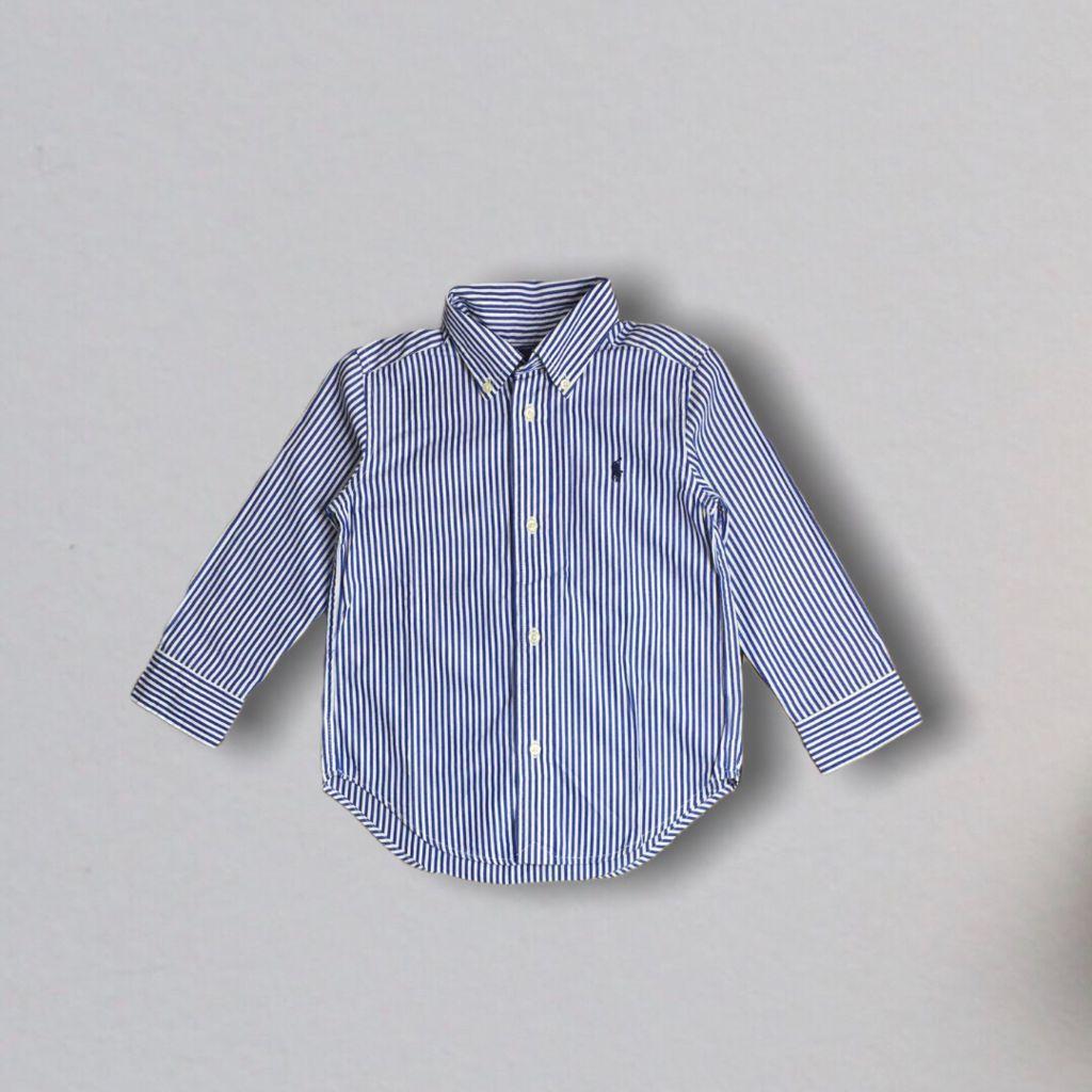 Camisa Listrada Ralph Lauren 3 Anos