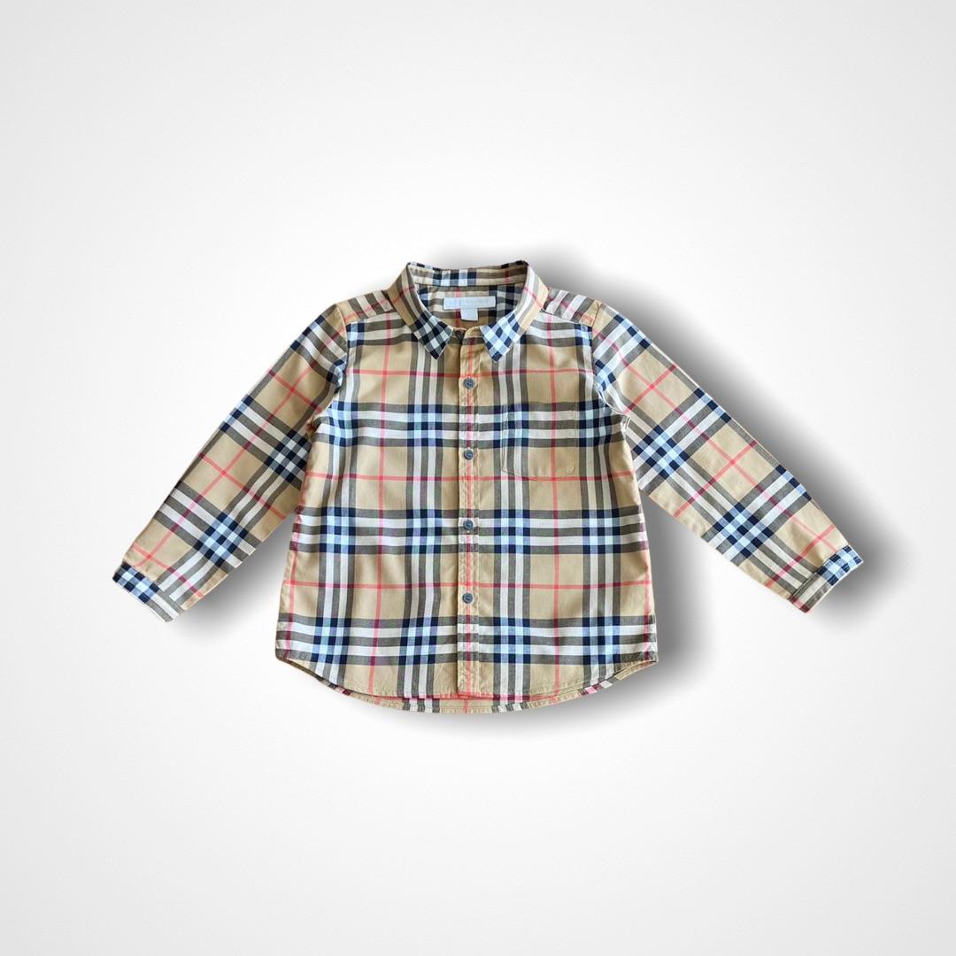 Camisa Vintage Burberry - 3 Anos