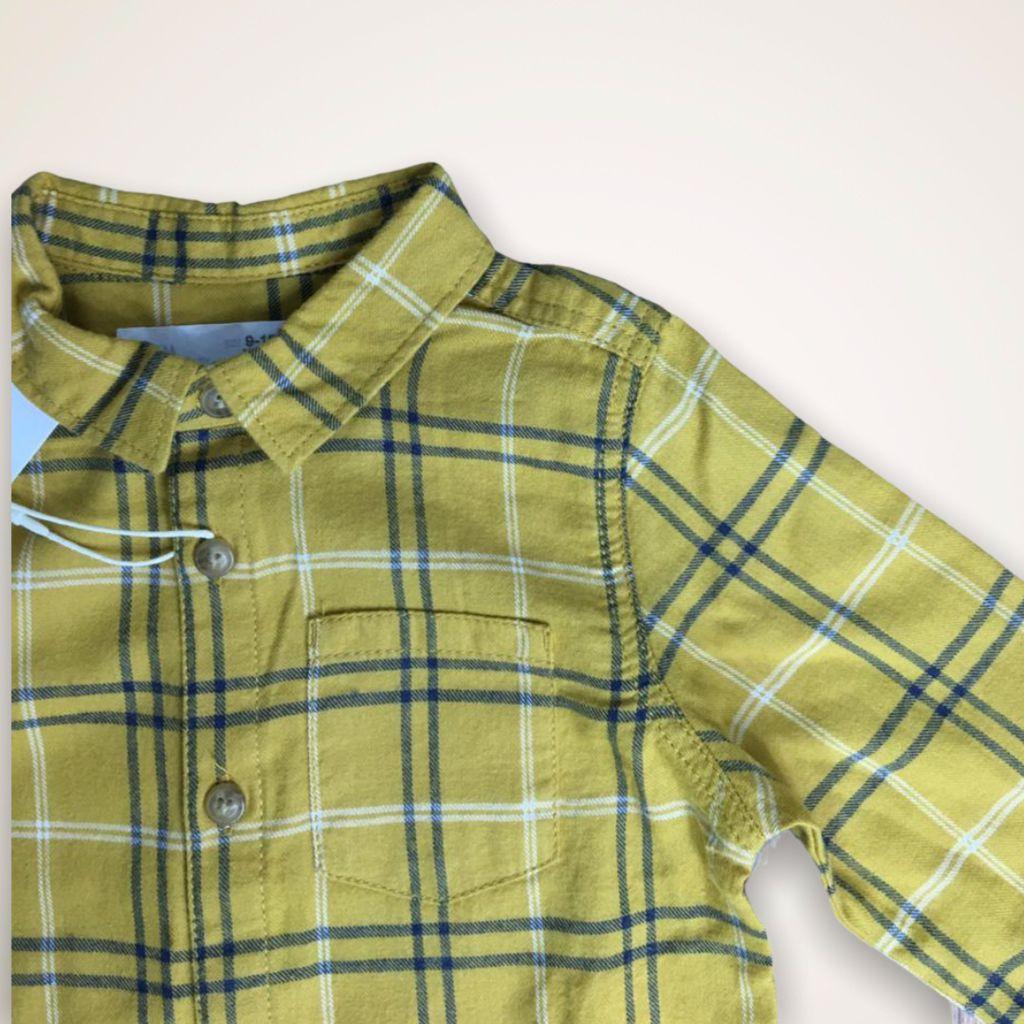 Camisa Xadrez Zara