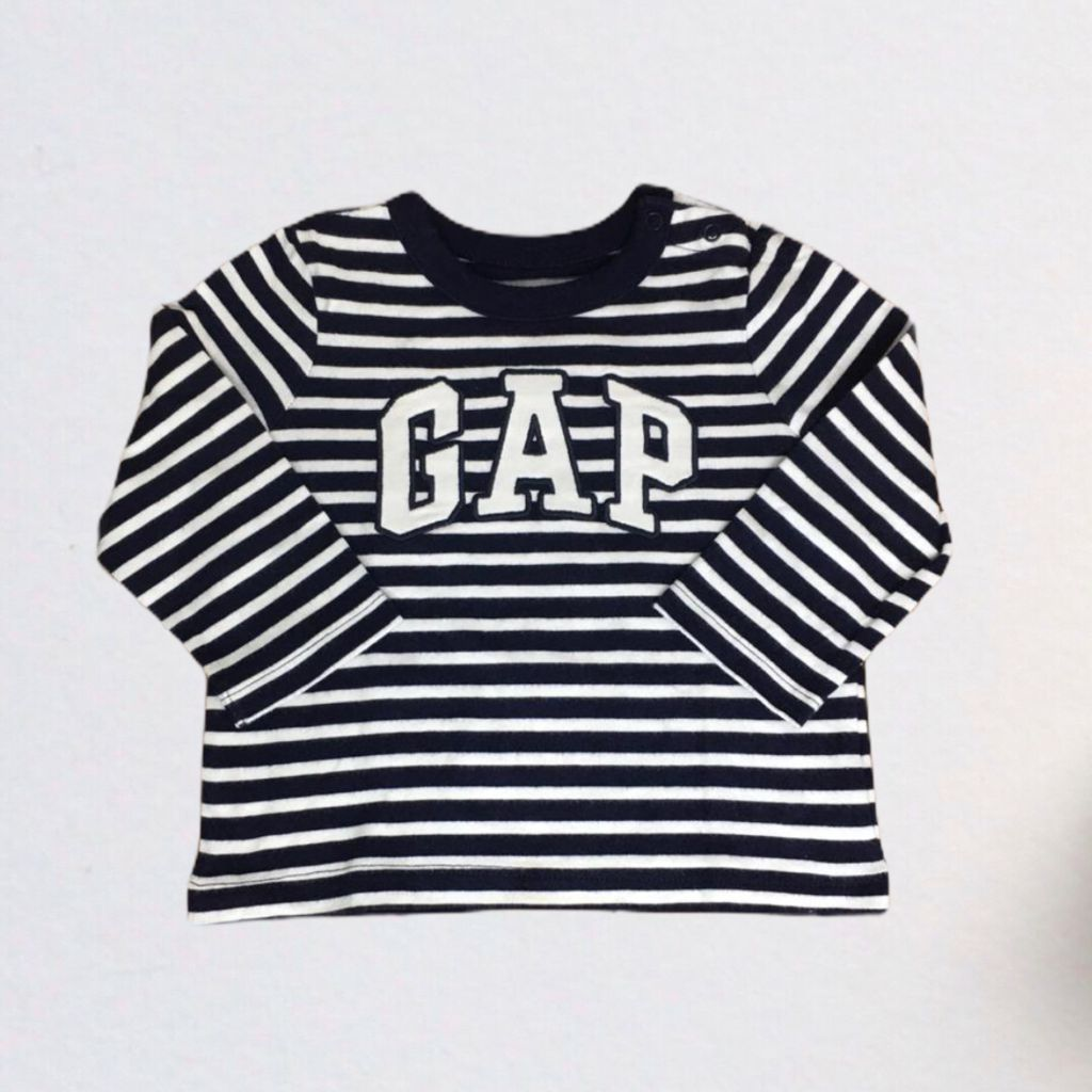 Camiseta Listrada Gap